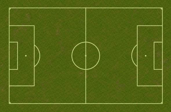 Fussbalfeld