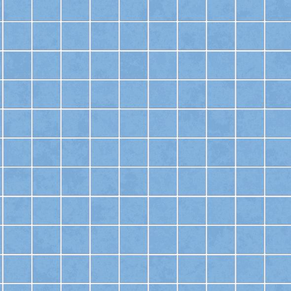 Blaue Wandfliesen Textur Bienenfisch Design