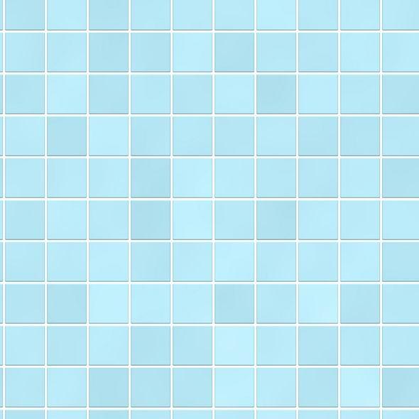 Hellblaue Wandfliesen Textur Bienenfisch Design