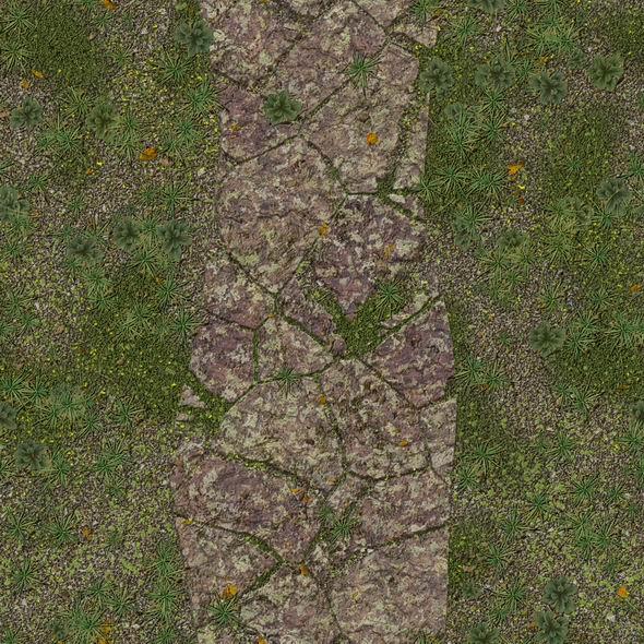 Steinplatten textur mit pflanzen und moos 002 for Design mit pflanzen