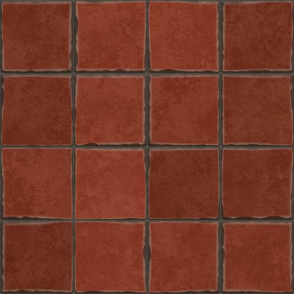 Terrakotta Bodenfliesen Textur 001 Bienenfisch Design